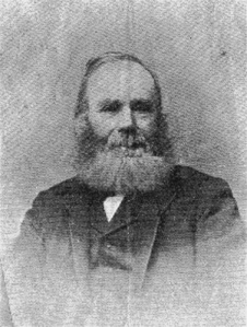 My Great great grandfather, William Gardiner.